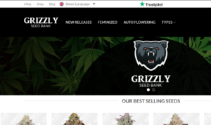 GRIZZLY SEED BANK website