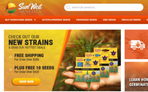 Sunwest Genetics Seed Bank official website