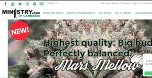 Ministry of Cannabis website